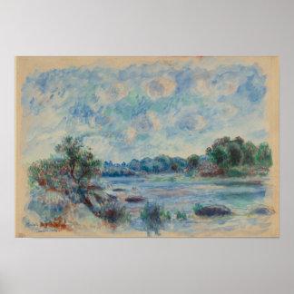 Landscape at Pont-Aven Poster