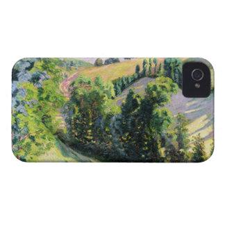 Landscape at Pontgibaud, c.1895 (oil on canvas) iPhone 4 Case-Mate Case