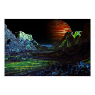 landscape before jupiter posterdruck