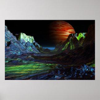 landscape before more jupiter print