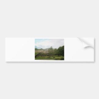 Landscape blend bumper sticker