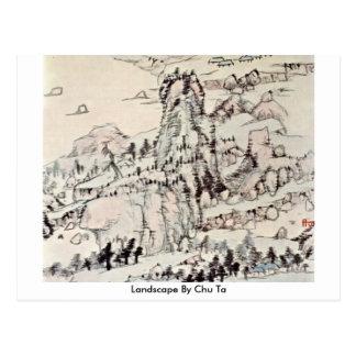 Landscape By Chu Ta Postcard