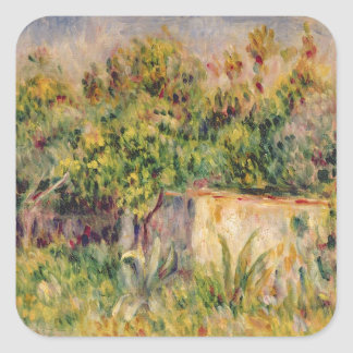 Landscape; Cabin in a Clearing in a Wood, 1915 (oi Stickers