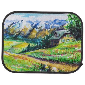 Landscape Car Mat