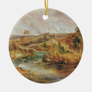 Landscape Christmas Ornament