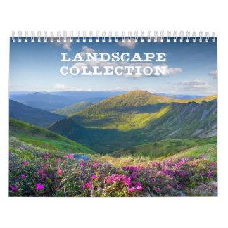 Landscape Collection Calendar