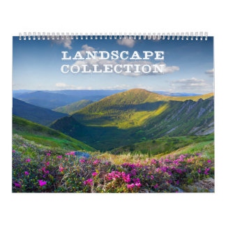 Landscape Collection Huge Calendar