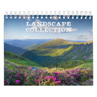 Landscape Collection Small Calendar
