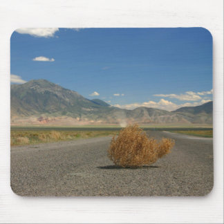 Landscape Country Fields Mountain View+ Tumbleweed Mouse Mat