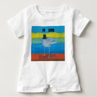 Landscape design with the Leader of the Seagulls. Baby Bodysuit