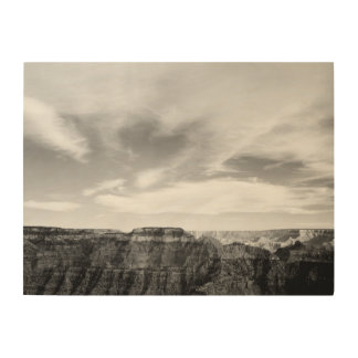 LANDSCAPE - GRAND CANYON (ANSEL ADAMS) Wood Canvas