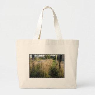 Landscape Grass matured  TEMPLATE add TEXT IMG Canvas Bag