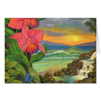 Landscape Greeting Cards Surrealism Art