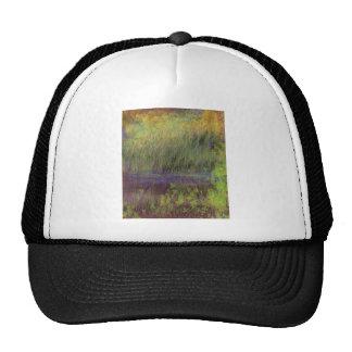 Landscape impressionism design hat