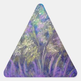 Landscape Impressionistic Tree Design Stickers