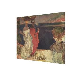 Landscape in Martinique Canvas Print