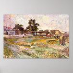 Landscape in Provence by Paul Cezanne