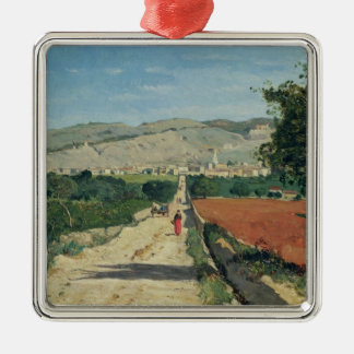 Landscape in Provence Christmas Ornament