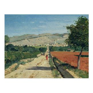 Landscape in Provence Postcard
