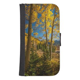 Landscape in San Juan Mountains Samsung S4 Wallet Case