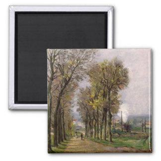 Landscape in the Ile de France, c.1878 Magnet