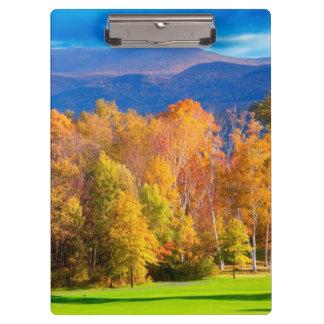 Landscape in Vermont Clipboard
