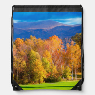 Landscape in Vermont Drawstring Bag