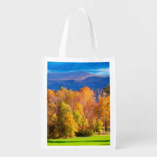 Landscape in Vermont Reusable Grocery Bag