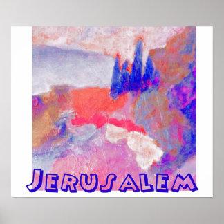 landscape Jerusalem Poster