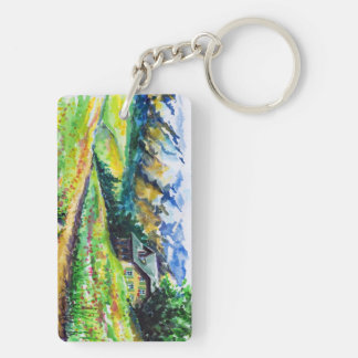 Landscape Key Ring