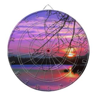 landscape lake dartboard