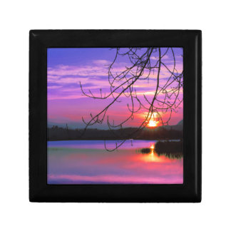 landscape lake gift box