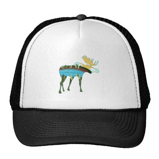 Landscape Moose Hat