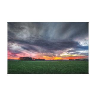 Landscape | Nature Photography Sunset | Sunrise Canvas Print
