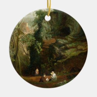 Landscape near Clifton, c.1822-23 (oil on canvas) Christmas Ornament