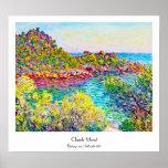 Landscape near Montecarlo, 1883 Claude Monet