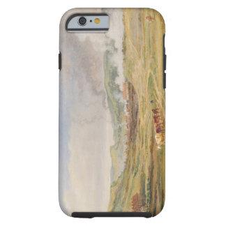 Landscape near Swansea, South Wales (oil on panel) Tough iPhone 6 Case