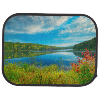 Landscape of Costello Lake Car Mat