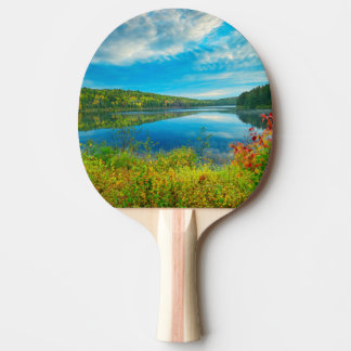 Landscape of Costello Lake Ping Pong Paddle