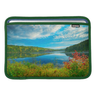 Landscape of Costello Lake Sleeve For MacBook Air