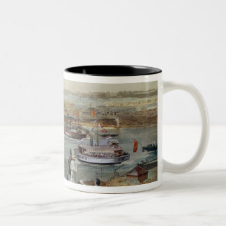 Landscape of Cuba Two-Tone Coffee Mug