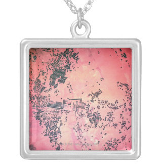 Landscape of Earth Silver Plated Necklace