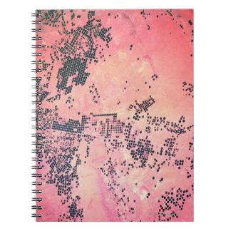 Landscape of Earth Spiral Notebook