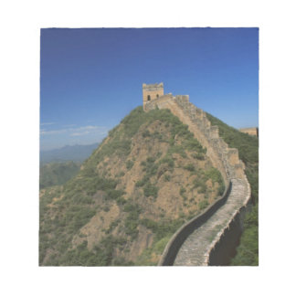 Landscape of Great Wall, China Notepad