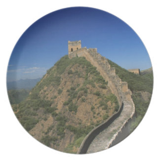 Landscape of Great Wall, China Plate