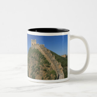 Landscape of Great Wall, China Two-Tone Coffee Mug