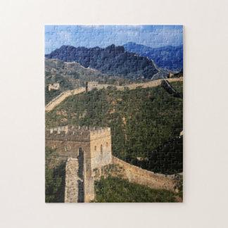 Landscape of Great Wall, Jinshanling, China Jigsaw Puzzle