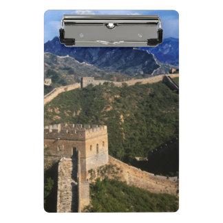 Landscape of Great Wall, Jinshanling, China Mini Clipboard