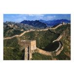 Landscape of Great Wall, Jinshanling, China Photo