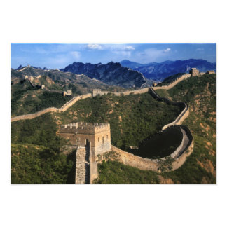Landscape of Great Wall, Jinshanling, China Photo Print